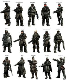 Helghast from killzone