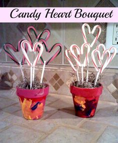 Show your love with this Candy Heart Bouquet.
