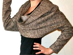 52c4740bdbf3ecb98f000094.jpg quick and easy bolero shrug top scarf sewing project to make for yourself to keep warm yet chic over these chilly winter days or to make as a gift for friends or for mothers day just measuring on one strip of material and sew in the right parts beginners fashion sew project look really good too