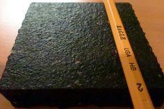 "Model HM-R46-75B - 4' x 6' x 3/4"" Revulcanized Rubber Mat  - Flat, ""micro-texture"" pattern surface Crossfit Gym, Rubber Mat, Flooring, Wood Flooring, Floor"