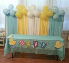 Time For Baby Shower Fun And Games! - My baby shower - Ducky Baby Showers, Baby Shower Duck, Rubber Ducky Baby Shower, Boy Baby Shower Themes, Baby Shower Gender Reveal, Baby Shower Cakes, Baby Shower Parties, Baby Shower Gifts, Juegos Baby Shower Niño