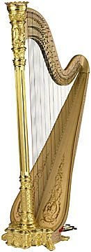 Gorgeous Style 23 Gold harp from Lyon & Healy. My dream harp.for someday. H Style, Gold Style, Music Is Life, Lyon, Musical Instruments, Musicals, Pure Products, John Keats, Dress Ideas