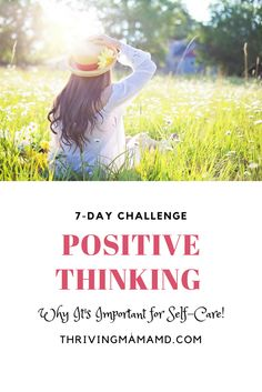 Our thoughts are very important as it influences many aspects of our lives and can also affect others. Thinking positively can led you to personal growth and wellbeing.