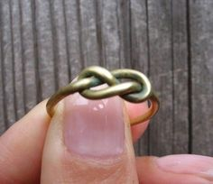 If I ever order off etsy, this will be my first! Beautiful infinity ring for $9!