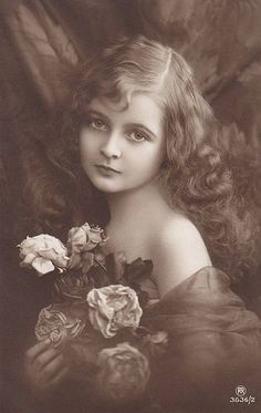 Vintage Beautiful Young Girl | Flickr - Photo Sharing!