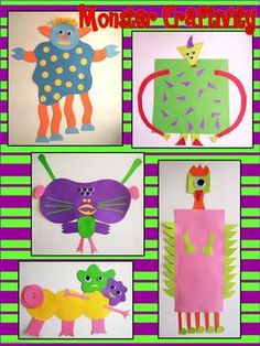 My Monster~An Informative Writing Project & Craftivity: This project is fun and engaging for students at any time of the school year, especially around HALLOWEEN time. Differentiated for grades 1st/2nd and 3rd/4th.