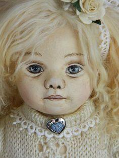 "My 16"" cloth Angel Doll close up"