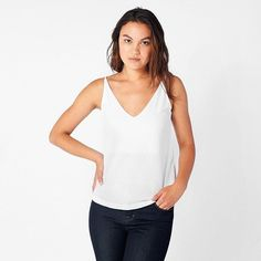 """85 Likes, 7 Comments - Grove & Bay (@groveandbay) on Instagram: """"Today's Find: This striking v-neck cami from @aeonrow will elevate your essentials with its classic…"""""""