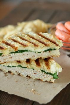 Cajun Turkey & Brie Panini  yield: 1 sandwich  Print This Recipe Print This Recipe    Ingredients:  2 slices French Bread (about 3/4 Inch Thick)  4 slices Cajun Turkey Lunch Meat  ¼ cups Baby Spinach  4 slices Brie Cheese  2 Tablespoons Butter, Softened    Directions:  Preheat panini press.  Build sandwich with spinach in between turkey and cheese. Butter the outsides of the bread, 1 tablespoon each per side, and place on the panini press for 1-2 minutes or until cheese is melted and the bread i