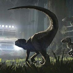 Velociraptor Encounter