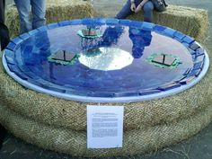 Solar-Powered Water Fountain a Great DIY Project