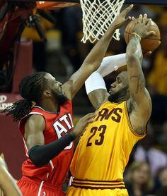 45beb765d0ec2 Cleveland Cavaliers destroy Atlanta Hawks 118-88 to advance to NBA Finals