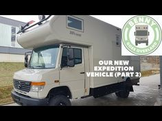 This part 2 includes a photo show about the completion process of our expedition vehicle based on a Mercedes Vario Dieser Teil beinhaltet eine Foto S. Diy Camper, Truck Camper, Camper Trailers, Mercedes Camper, Overland Trailer, Off Road Camper, Expedition Vehicle, Campervan, Pickup Trucks