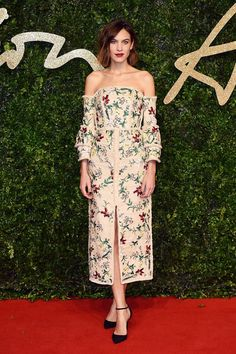 Best Dressed at The British Fashion Awards - Helena Bordon