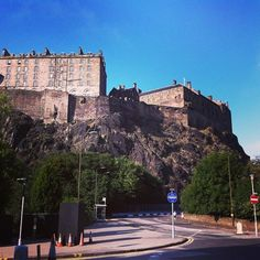 One of our latest energy saving works projects for a top UK retailer is located in #Edinburgh, with such lovely views we have of the #castle along the way, we thought it was only right to share them with you!