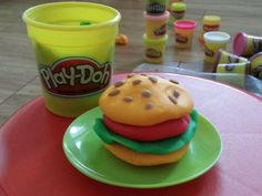 Delicious playdough burger!!!