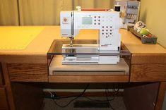 My new Custom Made Sewing desk