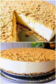 Sheesecake με κρέμα λεμονιού !!! ~ ΜΑΓΕΙΡΙΚΗ ΚΑΙ ΣΥΝΤΑΓΕΣ