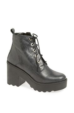 Topshop 'Apples' Chunky Platform Bootie available at #Nordstrom