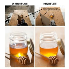 How to photograph honey glow