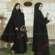 Azmia Syar'i By Alisya Hijab Fashion  Dress  khimar bahan wollpeach  Allsize fit to xl LD 110 panjang 140 cm  Karet belakang Busui nursing friendly Ujung tangan ada kancing bungkus untuk mempermudah saat berwudhu  Khimar depan 140 belakang 140 cm Pet antem tipis  Est. Ready 10 Des Retail 350.000 Reseller 330.000  Dp 50% = Booking  Line @kni7746k  Wa 62896 7813 6777  #pin #azmiasyaribyalishahijabfashion #gamissyaripremiummurah #gamissyaripolos #gamissyaricantik #jualgamiskhimarbranded…
