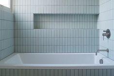 All Tile Installations – Heath Ceramics Heath Ceramics Tile, Heath Tile, Modern Bathroom, Small Bathroom, Master Bathroom, Basement Bathroom, Ceramic Tile Bathrooms, Tile Showroom, Bathroom Renos
