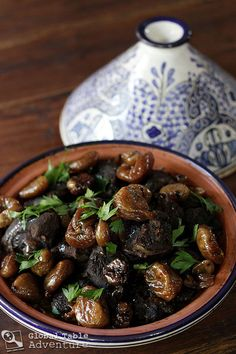 This is the best time of year for tagine... yum. Moroccan Lamb Tagine with Sweet Honey Figs