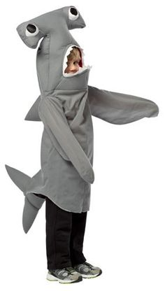 Includes 1 Shark Costume Jumpsuit Pants Shoes Not Included Brand New More