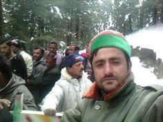 Adventurous Ride on Himalaya Hills in Heavy Snowfall..Shimla Kufri Theog...