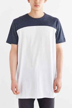 ZANEROBE Tall Pieced Top Tee - Urban Outfitters