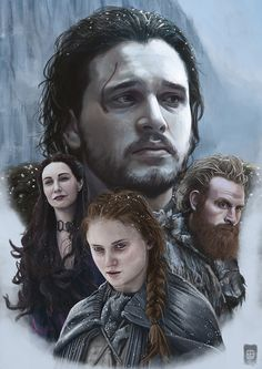 The North Remembers - Game Of Thrones, Russell Brampton on ArtStation at https://www.artstation.com/artwork/wmXeY