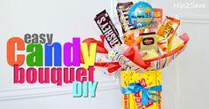 DIY Candy Bouquet (Fun & Easy GiftIdea)