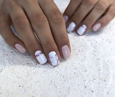 What Christmas manicure to choose for a festive mood - My Nails Nail Manicure, Toe Nails, Pink Nails, Nail Polish, Classy Nails, Stylish Nails, Trendy Nails, Best Acrylic Nails, Acrylic Nail Designs