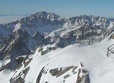 Zasnežené panorámy slovenských hôr