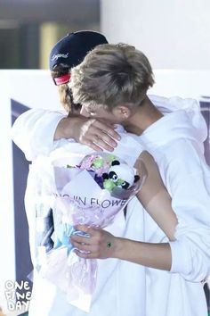 TaoKai hugging