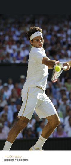 Roger Federer #Wimbledon #Tennis #RolexOfficial