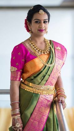 Vaddanam Designs, Gold Jewelry For Sale, Indian Bridal Fashion, South Indian Jewellery, South Indian Bride, Gold Jewellery Design, India Fashion, Saree Wedding, Wedding Bride