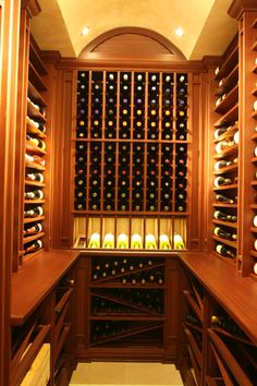 Our team of wine cellar construction experts specialize in skillfully crafting one of a kind wine cellars from consultation and design to installation. Glass Wine Cellar, Wine Cellar Design, Wine Cellars, Wine Glass, Woodworking Tools For Beginners, Wood Wine Racks, Wine Collection, Bar, Luxury Lifestyle