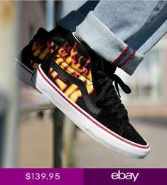 4f6792af3736e3 Vans x Thrasher Sk8-Hi Pro Shoes in Thrasher Black