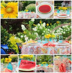 Tablescape Tuesday: A Slice Of Summer