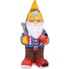 OMG! I want one soo bad! OKC Thunder gnome - I think you need one of these. So tacky it's awesome!