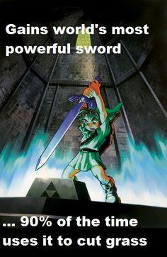 Funny Legend of Zelda Photo
