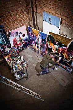 VNA 18 (retail) cover shot // Artist: Conor Harrington // Photographer: Shamil Tanna // Location: London, England