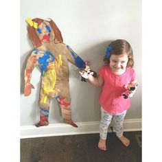 All About Me Painting Activity For Toddlers!