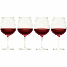 Barmasters Set of 4 Red Wine Glasses - jcpenney