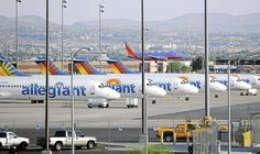 Low-cost carrier Allegiant Air debuts its flight from Tulsa to Orlando-Sanford on Friday. Allegiant Air, The Final Destination, Airplane Travel, Commercial Aircraft, Orlando, Las Vegas, Pilot, Aviation, Management