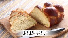 Challah Braid - https://aramon65.wordpress.com/2017/01/27/challah-braid-6-strands/
