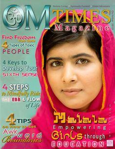 OMTimes Magazine October D 2013 Edition with Malala Yousafzai