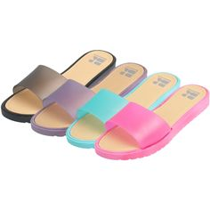 4e71d0d2837b9e Women s Slip On SandalThese comfortable slip on sandals come in assorted  colors and sizes.Colors