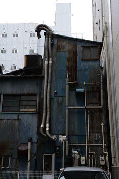 Cyberpunk City, Industrial Photography, Urban Setting, Slums, Environment Design, Brutalist, Urban Landscape, Urban Decay, Facade